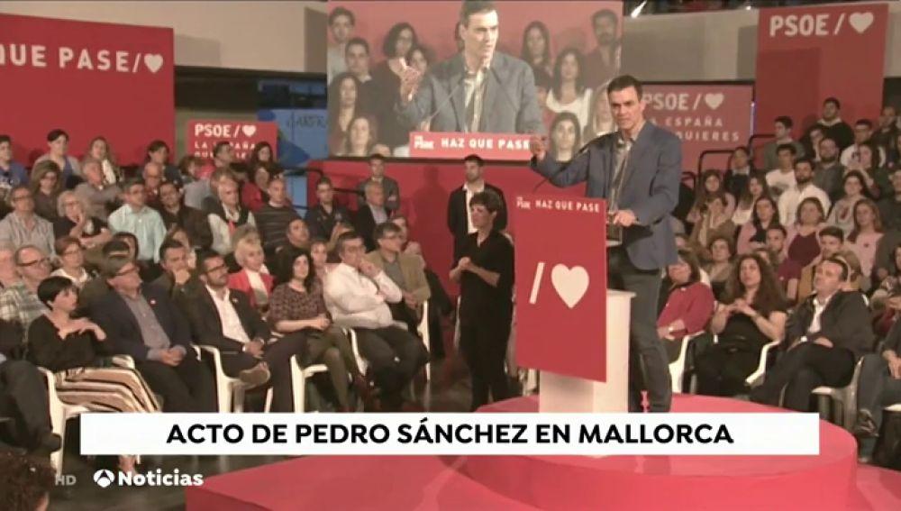 """Sánchez llama a la movilización y pide que no se confíen: """"la victoria depende de un solo voto"""""""