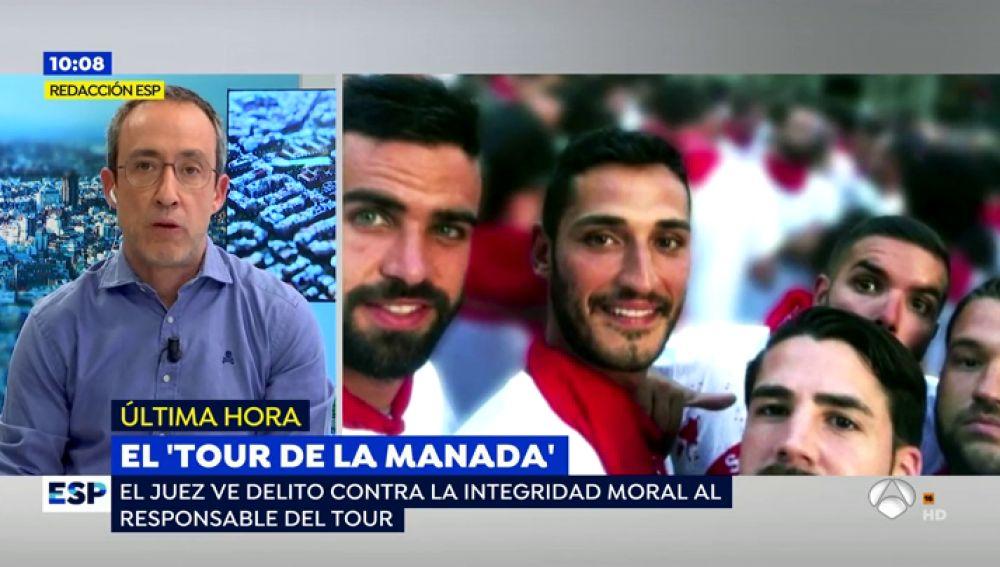 Alfonso Egea, sobre el tour de 'La Manada'
