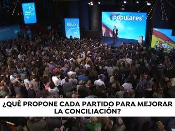¿Qué propone cada partido para mejorar la conciliación?