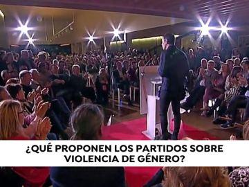 ¿Qué proponen los partidos sobre violencia de género?