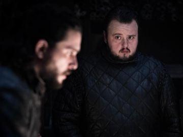 Jon Snow y Sam Tarly en 'Juego de Tronos'