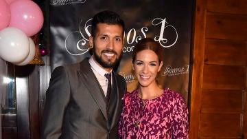 Ezequiel Garay y Tamara Gorro
