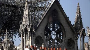 Consecuencias del fuego en la catedral de Notre Dame