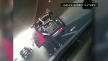 Paliza a un conductor en la M40 de Madrid