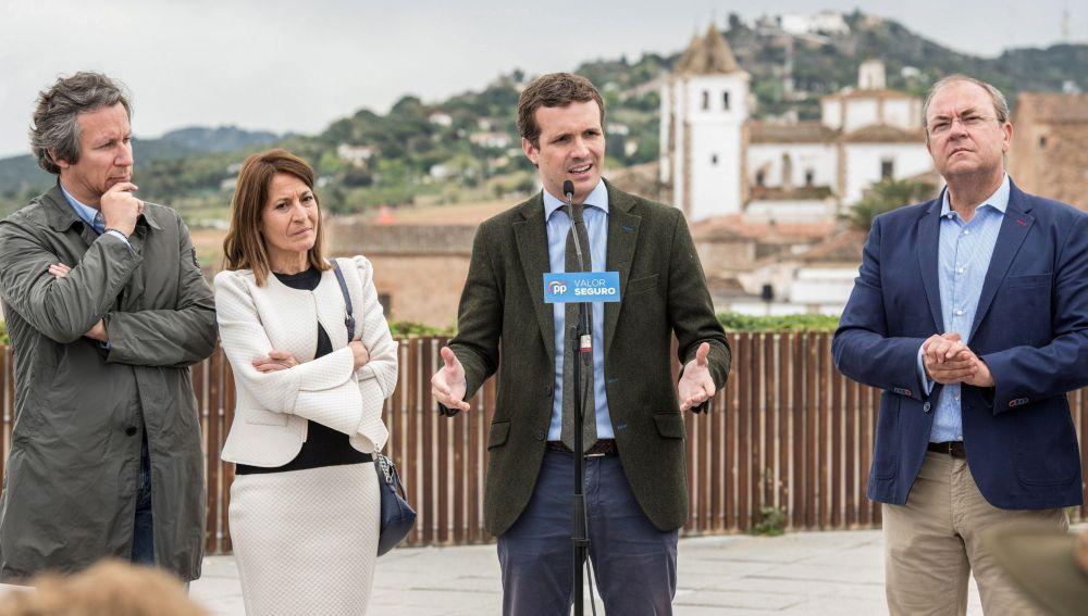 Casado cree que si Sánchez sigue en Moncloa aceptará vía de referéndum como pronostica el candidato de JxCat