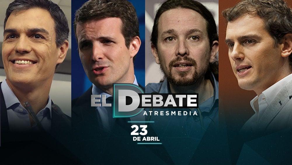 Noticias de la Mañana (17-04-19) Atresmedia mantiene su propuesta de debate a cuatro para el 23 de abril