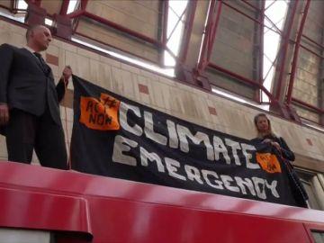 Protesta por el cambio climático