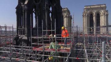 La empresa encargada de poner los andamios de Notre Dame, estuvo implicada en otro incendio