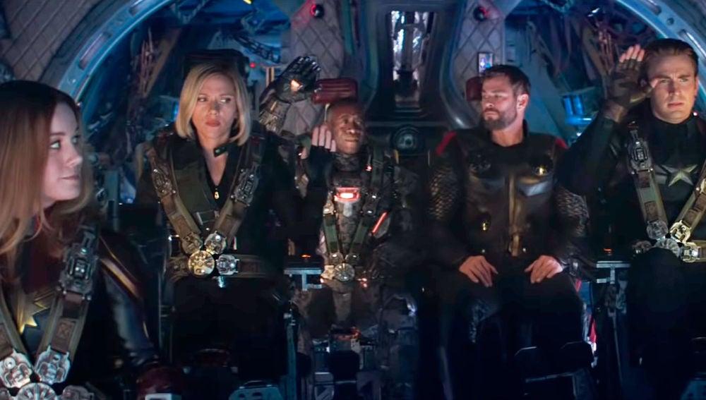 Los Vengadores al rescate en 'Endgame'