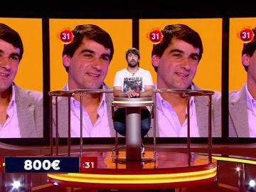 Los famosos juegan una mala pasada a Jorge que consigue unos escasos 5.000 euros en 'Juego de juegos'