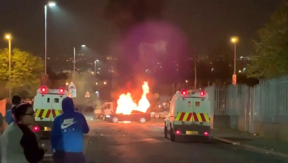 Acto terrorista en Irlanda del Norte