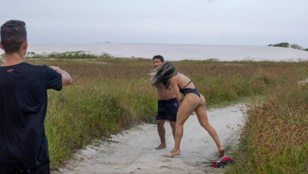 Luchadora de MMA da una paliza a un acosador