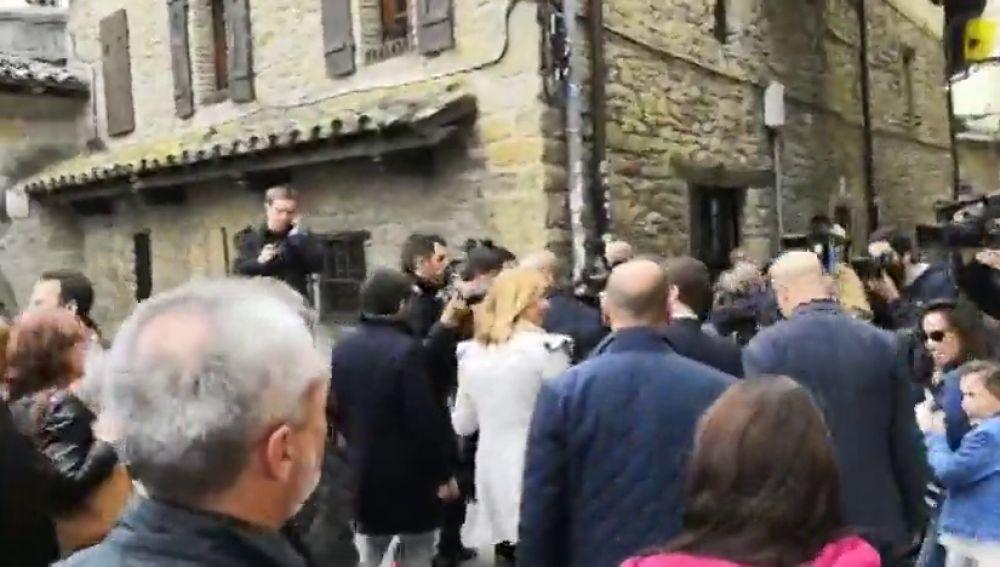 Increpan a Pablo Casado en Pamplona