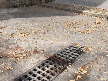 Lugar donde ocurrió la agresión de Barcelona