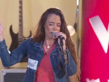Lorena Fernández relata la 'Historia de un amor' de Luis Miguel durante los castings piano