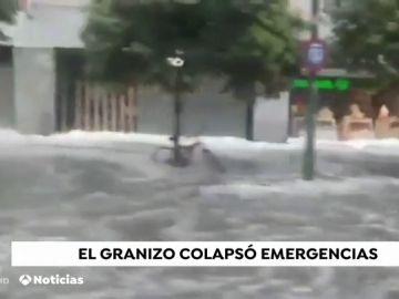 Granizada en Sevilla
