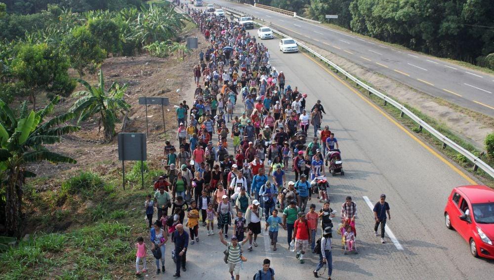 Inmigrantes en México