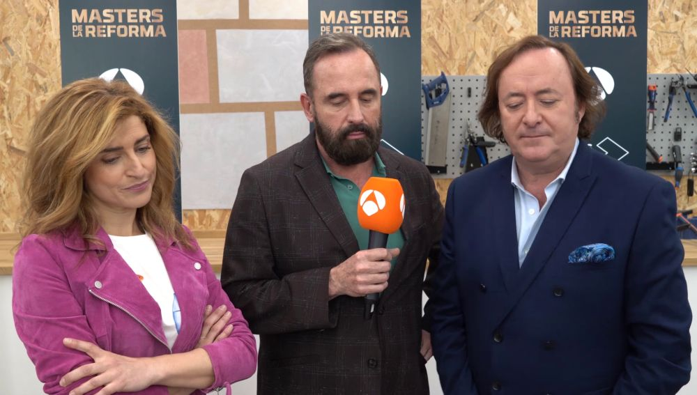 ¿Con qué estilo se identifican estos presentadores de Antena 3? ¡El jurado de 'Masters de la reforma' responde!