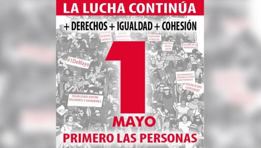 Cartel de las manifestaciones
