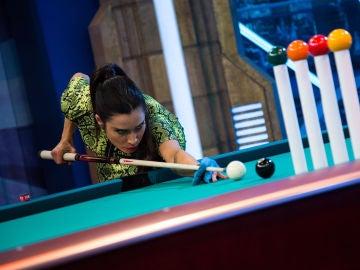 Pilar Rubio hace realidad 'El tiro imposible' en 'El Hormiguero 3.0'