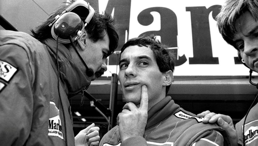 El legendario Ayrton Senna