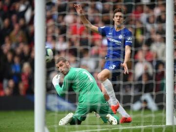 David de Gea tras su fallo la pasada semana ante el Chelsea