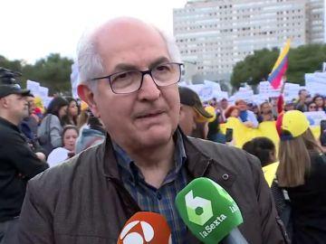 """Antonio Ledezma: """"Hasta ahora Leopoldo López ha dicho que quiere estar en Venezuela"""""""