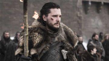 Jon Snow con sus heridas