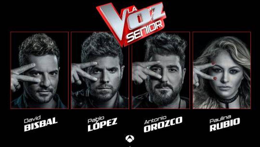 'La Voz Senior' llega por primera vez a España el próximo 8 de mayo: así será su mecánica