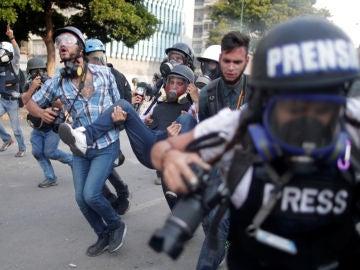 Disturbios en Venezuela