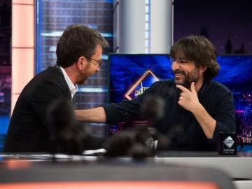"""Jordi Évole desvela en 'El Hormiguero 3.0' los requisitos y los detalles de su entrevista con el Papa: """"Hubo feeling"""""""