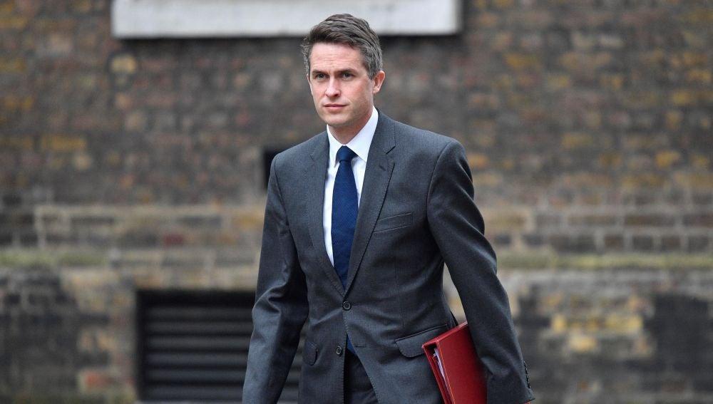 El exministro de Defensa británico, Gavin Williamson