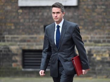 El exministro de Defensa británico, Gavin Williamson