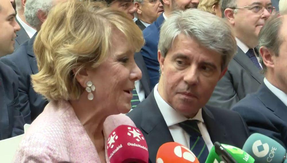 """Aguirre sobre las """"mamandurrias"""": """"Casado ha querido dar una patada a Abascal en mi trasero"""""""
