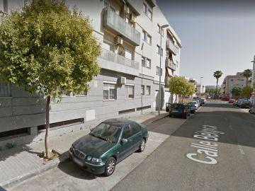 La calle en la que se produjo el incendio