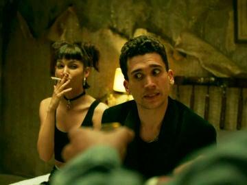 Úrsula Corberó y Jaime Lorente en 'La Casa de Papel'