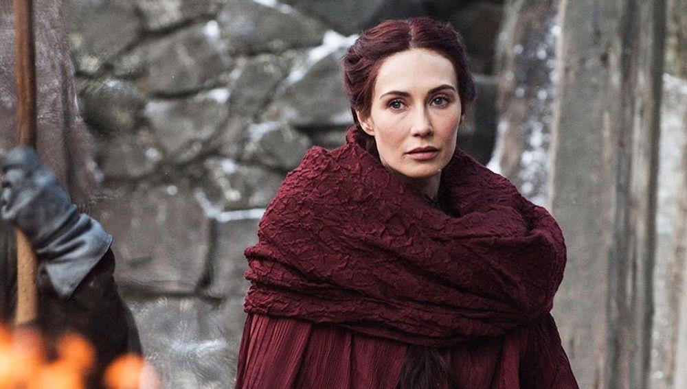 Melisandre en 'Juego de Tronos'