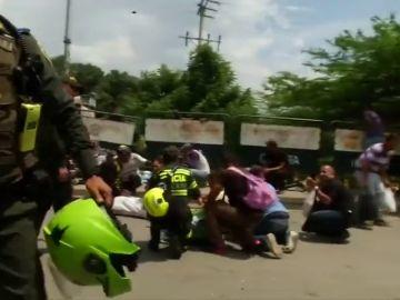 Disparos en la frontera entre Venezuela y Colombia