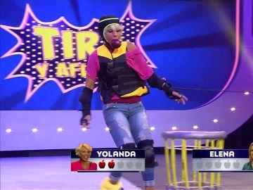 Yolanda y Elena protagonizan un intenso 'Tira y afloja' en 'Juego de juegos'