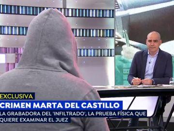 Espejo Público (03-05-19) El infiltrado en la familia de 'El Cuco' muestra las pruebas físicas que ha pedido examinar el juez