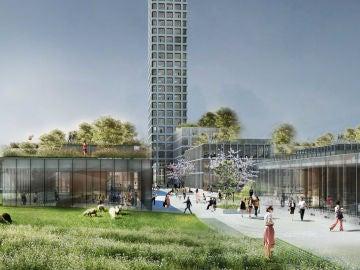 Proyecto de la Bestseller Tower en Brande