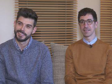 """Javier y Jonathan, dos amigos opuestos: """"Él es luz y yo soy oscuridad"""""""