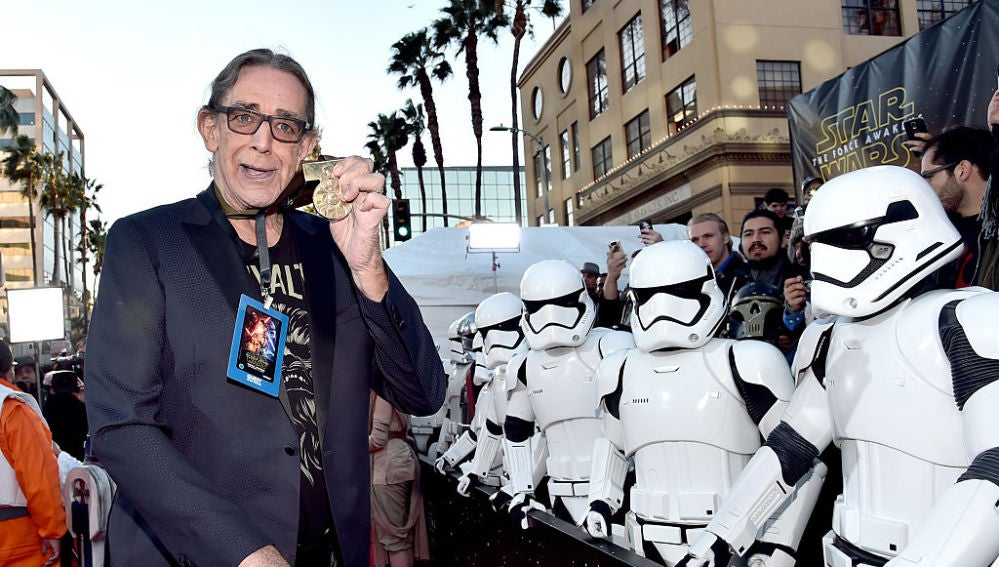 Peter Mayhew en un evento de 'Star Wars'