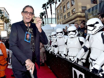 Peter Mayhew en un evento de 'Star Wars'