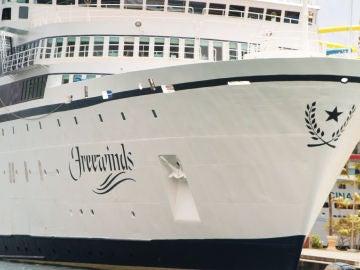 El crucero de la Cienciología en cuarentena