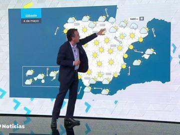Bajan las temperaturas y habrá precipitaciones en algunos puntos de España