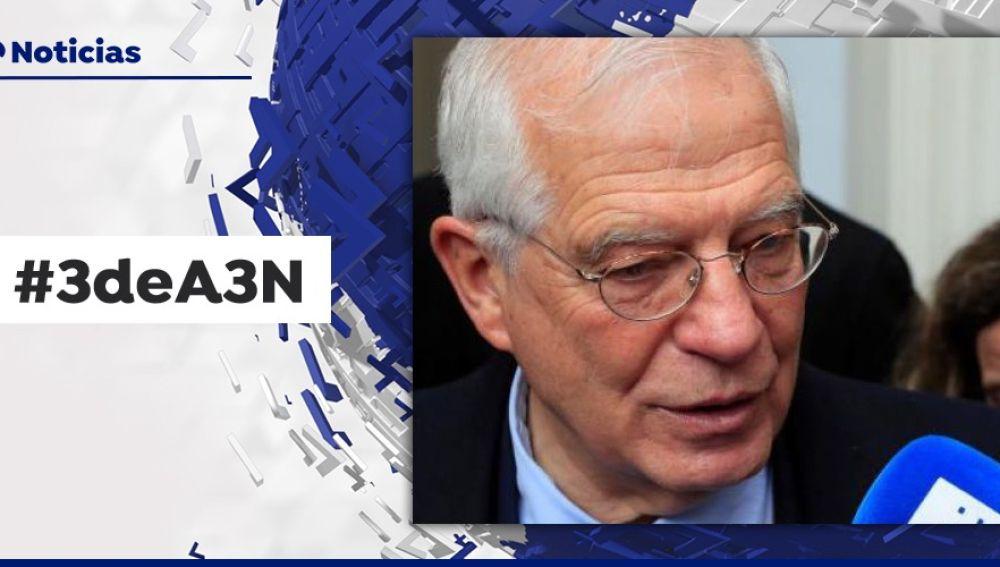 Imagen de Borrell para el #3deA3N