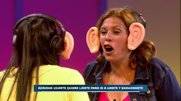 'Las malasmadres no aciertan ni una palabra en 'Pon la oreja', pero originan un ataque de risa a Silvia Abril