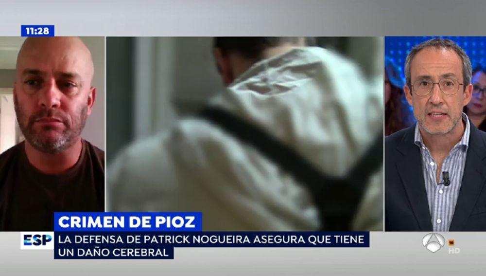 """La defensa de Patrick Nogueira argumenta que sufre un """"daño cerebral"""" y pide una rebaja de la pena"""