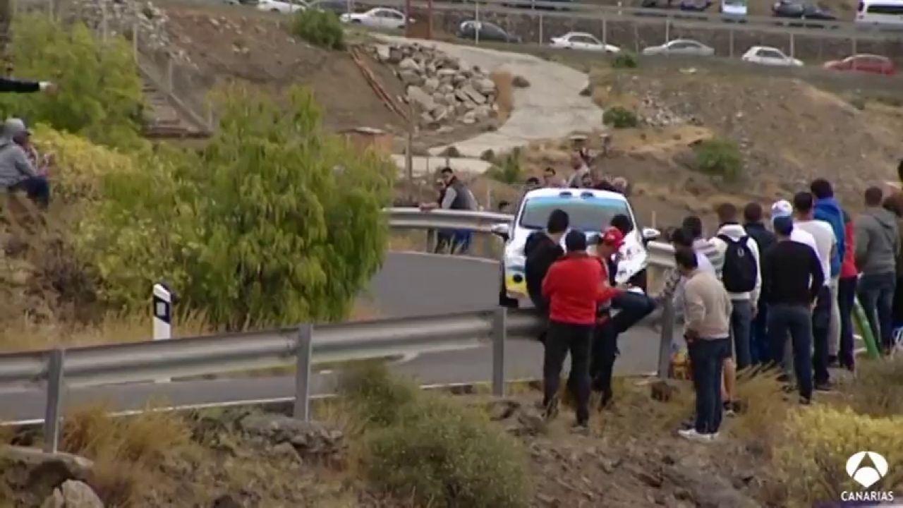 Máxima Seguridad Para El Rally Islas Canarias
